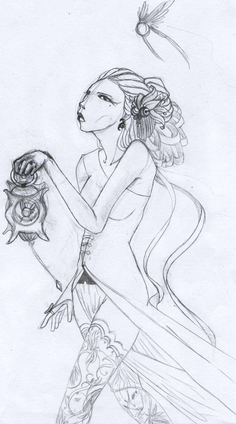 délires psychique névrose psychologique, mes dessins quoi Loupio10