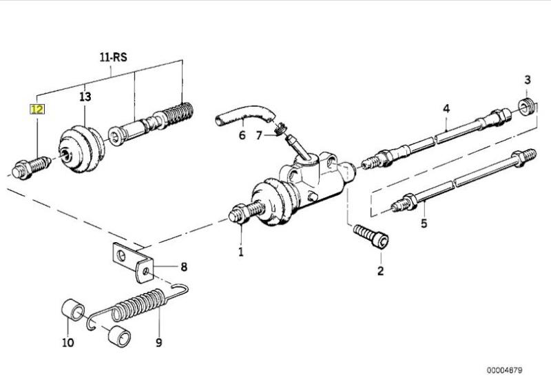 Rear brake question 85 K100RS Mc10