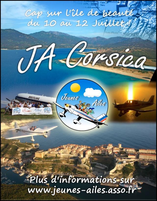 JA Corsica 2015, Cap sur l'île de beauté ! Affich11