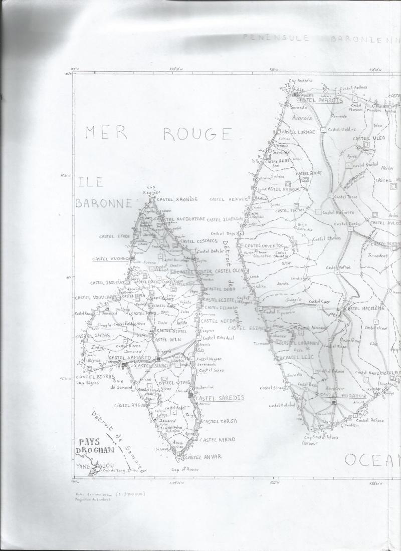 Carte locale : péninsule baronienne Pynins11