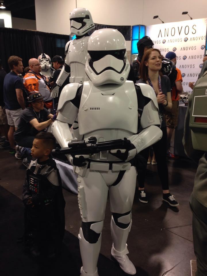 Anovos Star Wars - The Force Awakens Stormtrooper amor 10985810