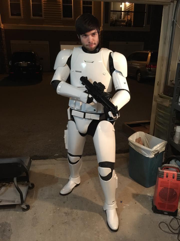 Anovos Star Wars - The Force Awakens Stormtrooper amor 11078210