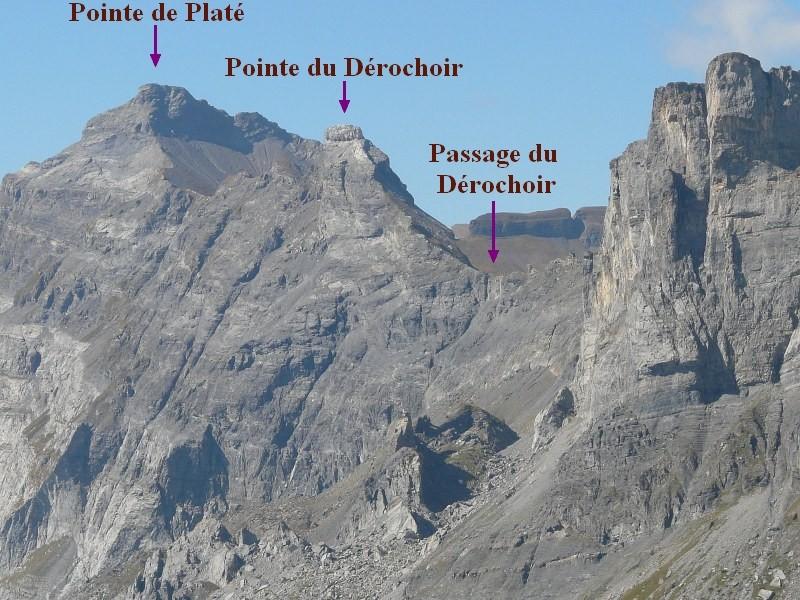 Effondrement du Dérochoir en 1751 (Haute-Savoie) 12547610