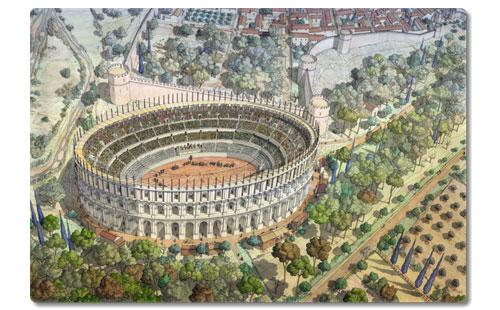 L'assassinat des arènes romaines de Fréjus Amphi_10