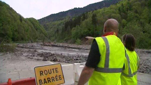 La route des Gorges de l'Arly (Savoie), route la plus chère de France Arlyre10