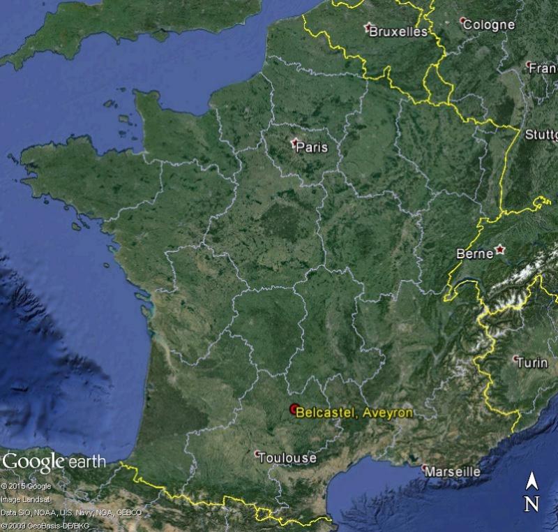 Tour de France virtuel - Les Plus Beaux Villages de France Belcas10