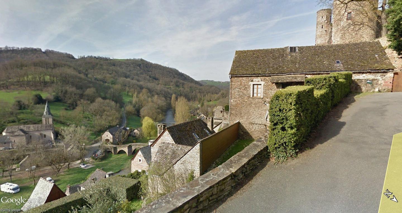 Tour de France virtuel - Les Plus Beaux Villages de France Belcas14