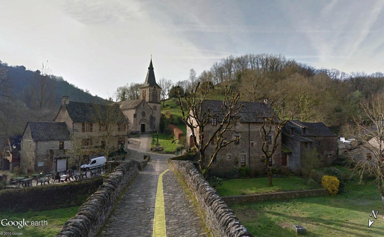 Tour de France virtuel - Les Plus Beaux Villages de France Belcas15