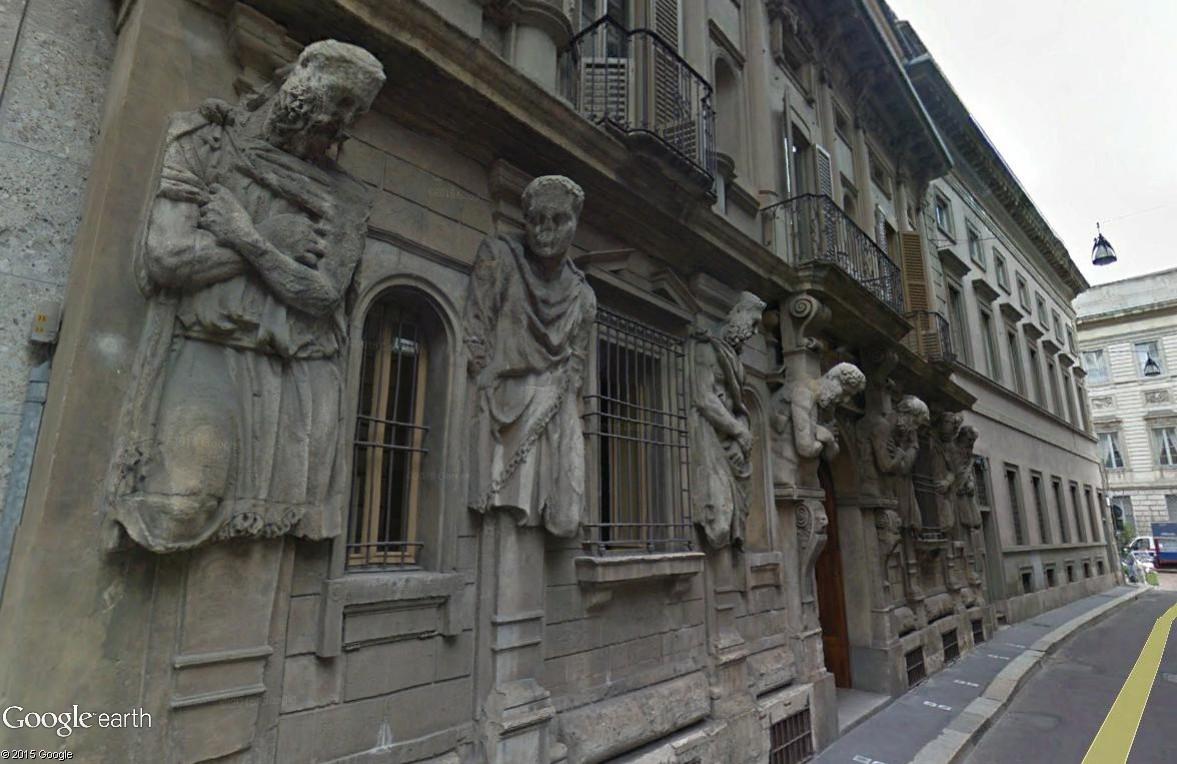 ARCHITECTURE : cariatides et atlantes Casa_d10