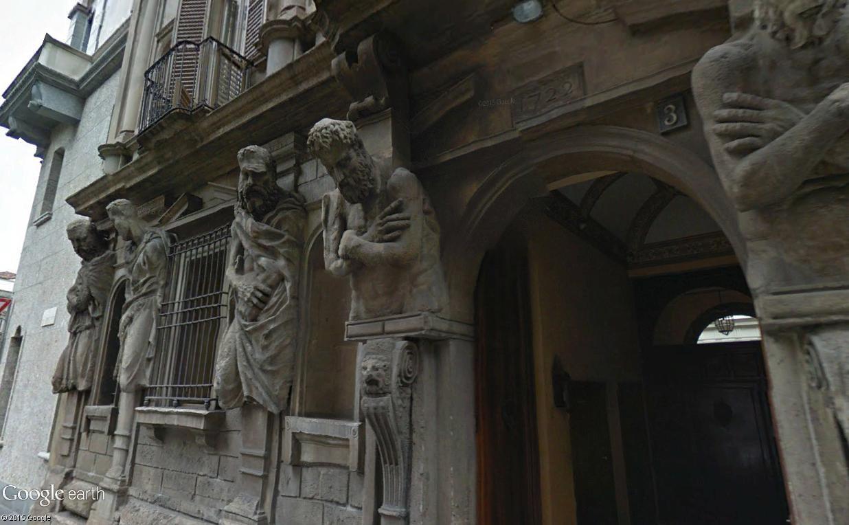ARCHITECTURE : cariatides et atlantes Casa_d12
