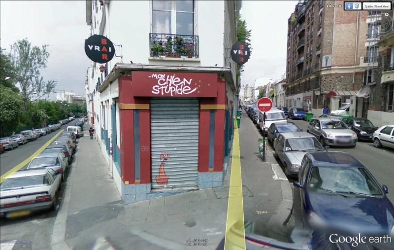 STREET VIEW : bistrots et  bars Chien10
