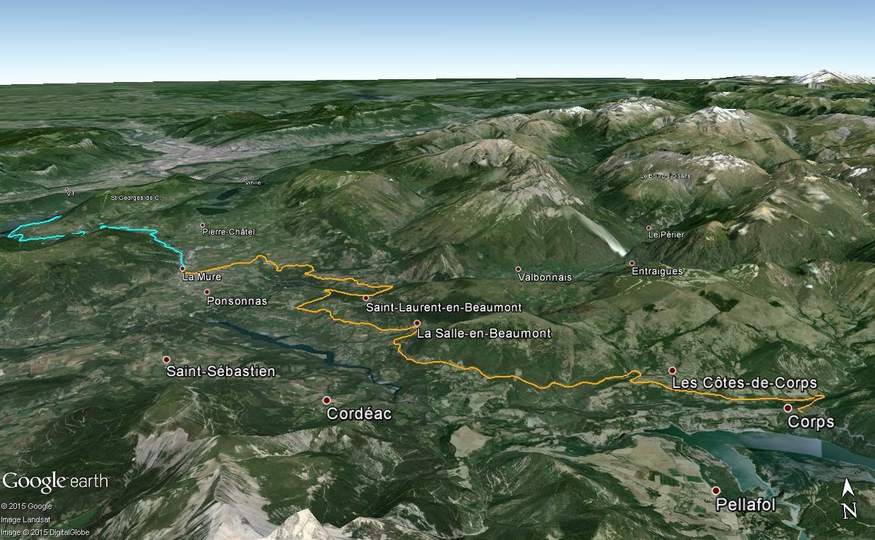 La ligne du Champsaur : une ligne de chemin de fer presque terminée, jamais mise en service Corpsl10