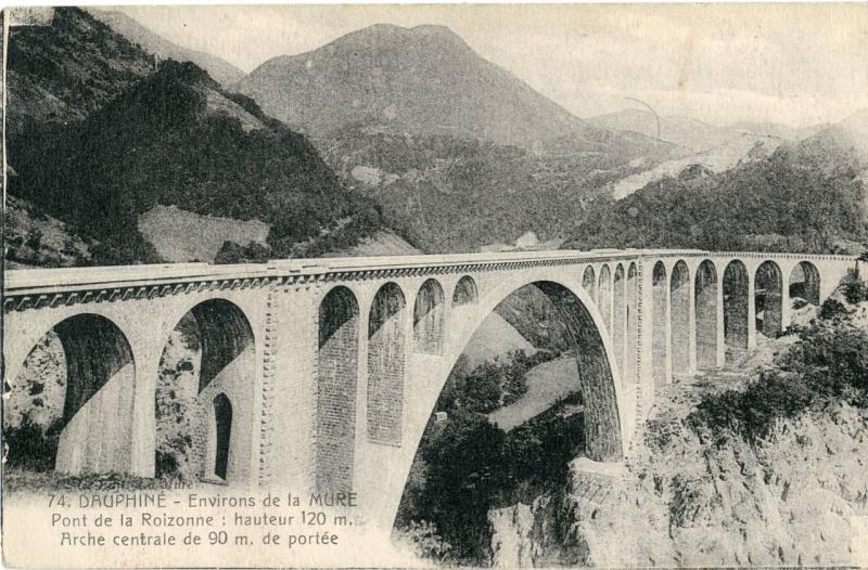 La ligne du Champsaur : une ligne de chemin de fer presque terminée, jamais mise en service Dauphi10