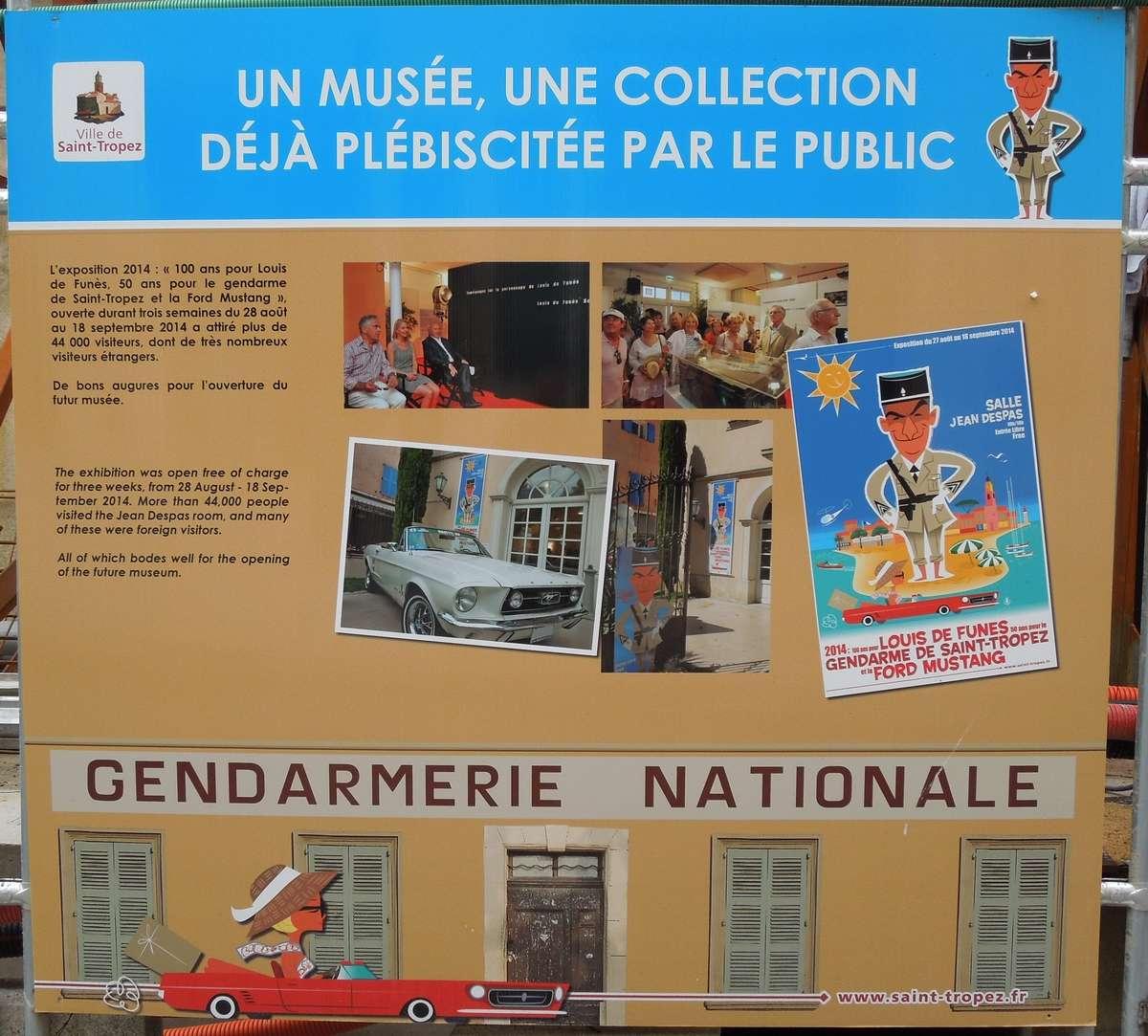 Saint-Tropez : l'ex-gendarmerie de Louis De Funès devient un musée Dscn1014