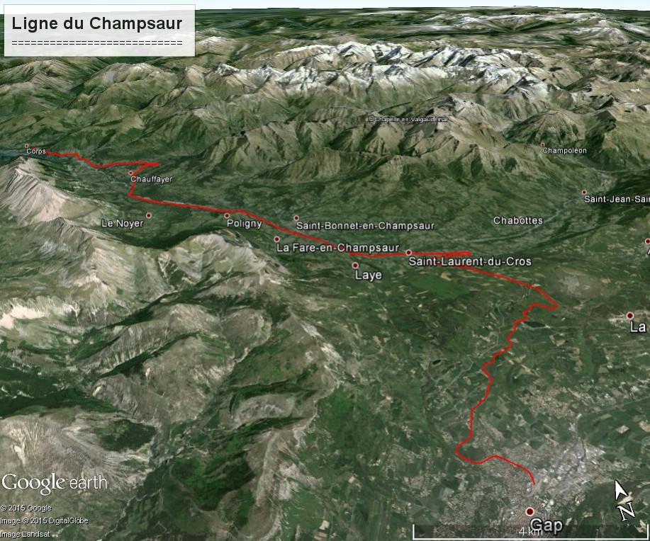 La ligne du Champsaur : une ligne de chemin de fer presque terminée, jamais mise en service Ligne_11
