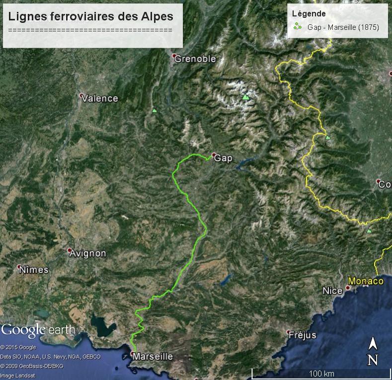La ligne du Champsaur : une ligne de chemin de fer presque terminée, jamais mise en service Lignes13