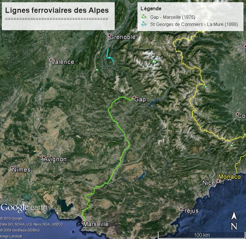 La ligne du Champsaur : une ligne de chemin de fer presque terminée, jamais mise en service Lignes14