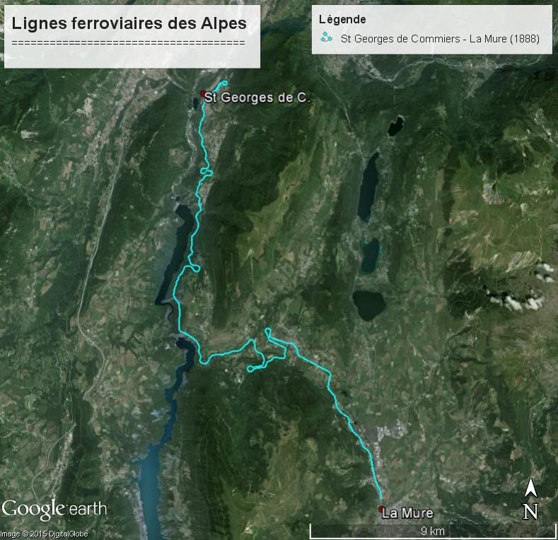 La ligne du Champsaur : une ligne de chemin de fer presque terminée, jamais mise en service Lignes15