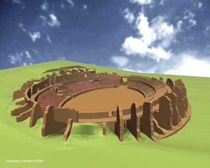 L'assassinat des arènes romaines de Fréjus Ois3_e10
