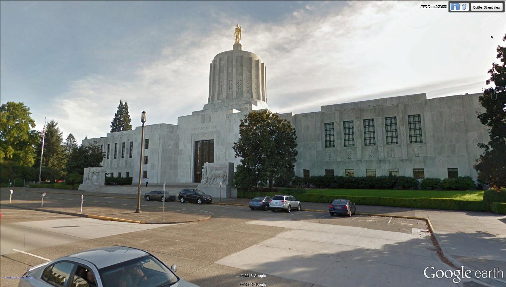 La surprenante collection des capitoles des États-Unis - Page 4 Oregon12