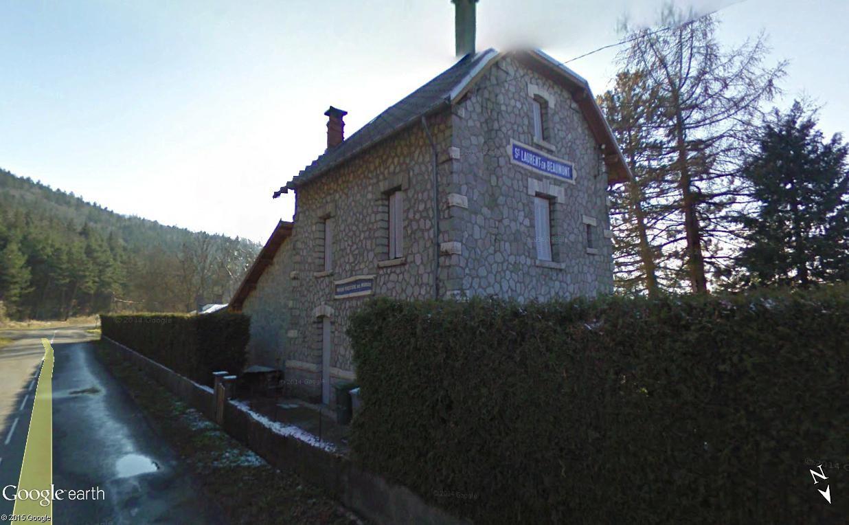 La ligne du Champsaur : une ligne de chemin de fer presque terminée, jamais mise en service Stlaur10