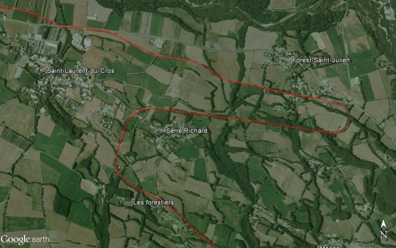 La ligne du Champsaur : une ligne de chemin de fer presque terminée, jamais mise en service Stlaur11