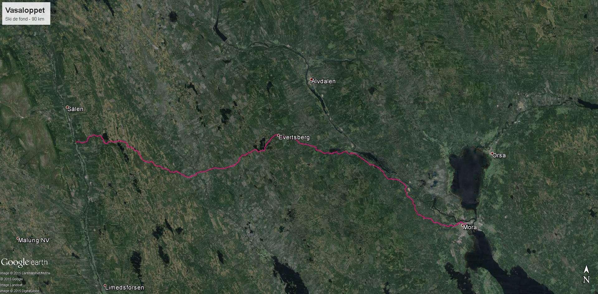 La Vasaloppet : plus longue course de ski de fond au monde Vasa_210