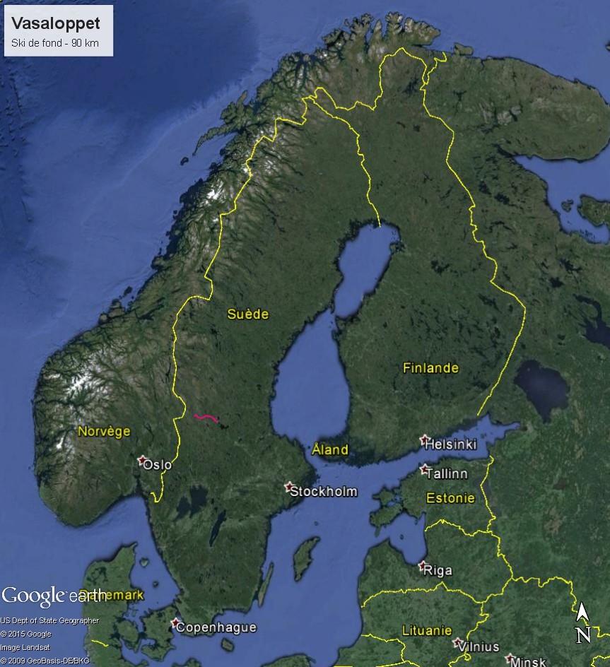 La Vasaloppet : plus longue course de ski de fond au monde Vasa_l10