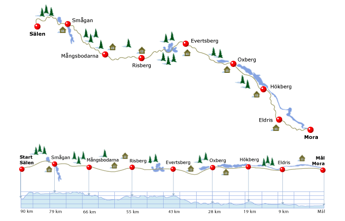 La Vasaloppet : plus longue course de ski de fond au monde Vasalo10