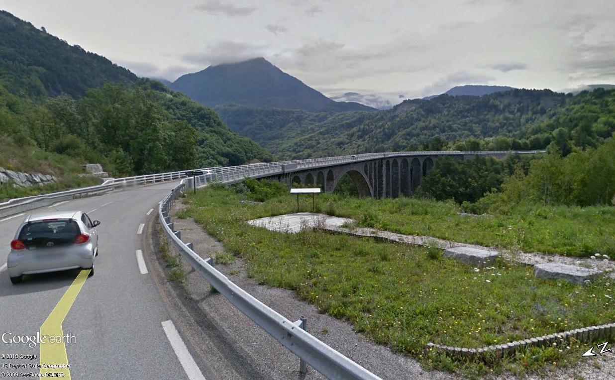 La ligne du Champsaur : une ligne de chemin de fer presque terminée, jamais mise en service Viaduc10