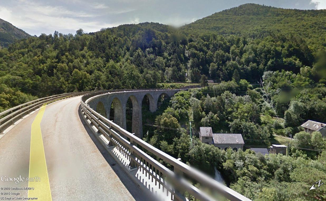 La ligne du Champsaur : une ligne de chemin de fer presque terminée, jamais mise en service Viaduc12