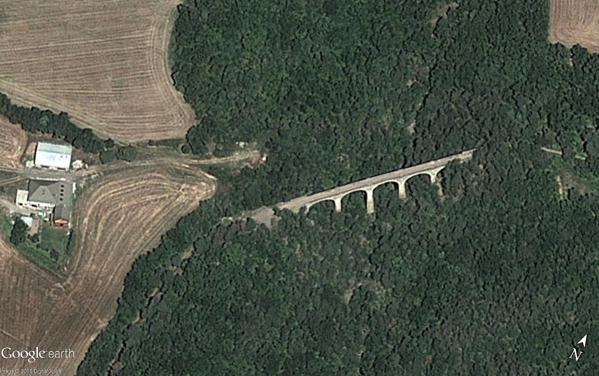 La ligne du Champsaur : une ligne de chemin de fer presque terminée, jamais mise en service Viaduc13