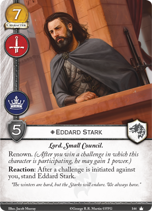 [JCE/LCG] Le Trône de Fer/A Game of Thrones 2nd Edition Eddard10