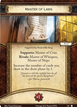 [JCE/LCG] Le Trône de Fer/A Game of Thrones 2nd Edition - Page 4 Master11