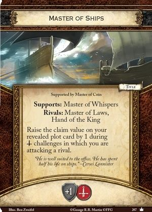 [JCE/LCG] Le Trône de Fer/A Game of Thrones 2nd Edition - Page 4 Master12