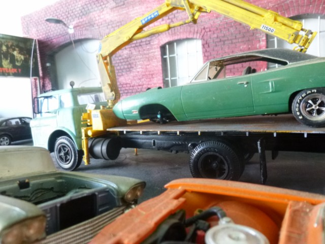 Ford C600 Flat bed P1090413
