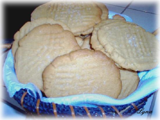 Biscuits au beurre d'arachides Biscui12