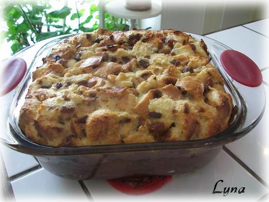 Pouding au pain aux raisins Poudin10