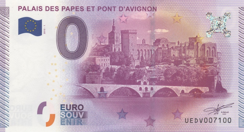 Avignon (84000)  [UEDV] 00113