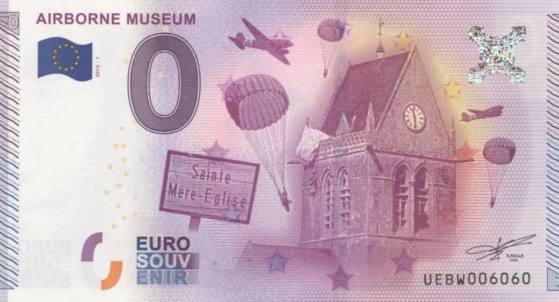 Billets 0 € Souvenirs [Normandie = 51] 00311