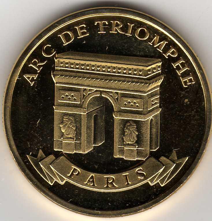 Souvenirs et Patrimoine 31mm  Al04810