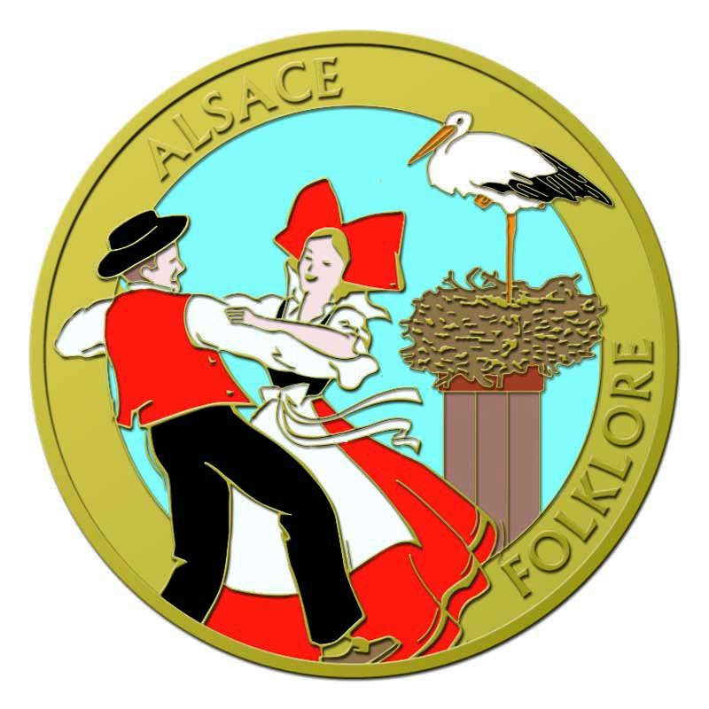 Souvenirs et Patrimoine 40mm  =  5  Alsace10