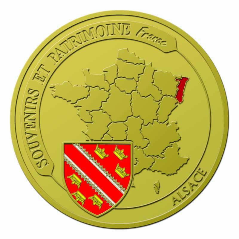 Souvenirs et Patrimoine 40mm  =  5  Alsace11