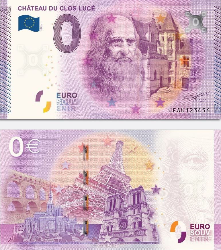 Billet Euro Souvenir (Technique) Ambois13