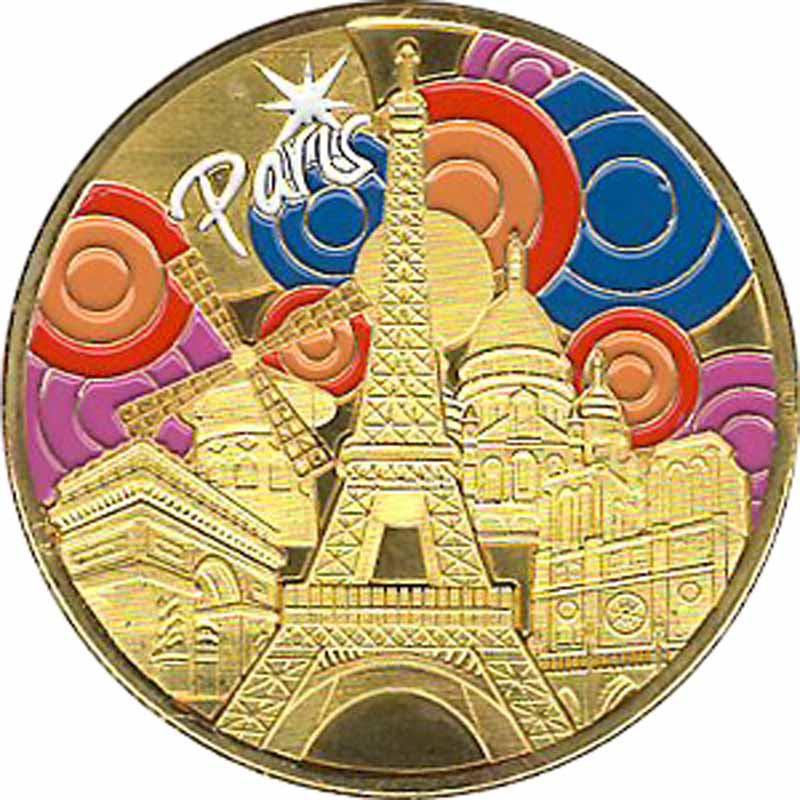Souvenirs et Patrimoine 34mm =  4 Paris_10
