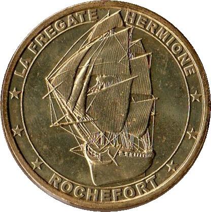Rochefort-sur-Mer (17300)  [Hermione] Uu110