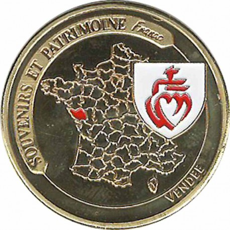Souvenirs et Patrimoine 34mm  = 24 Vendee11