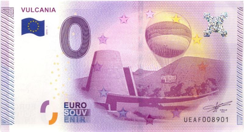 Billets 0 € Souvenirs  = 40  Vulcan10