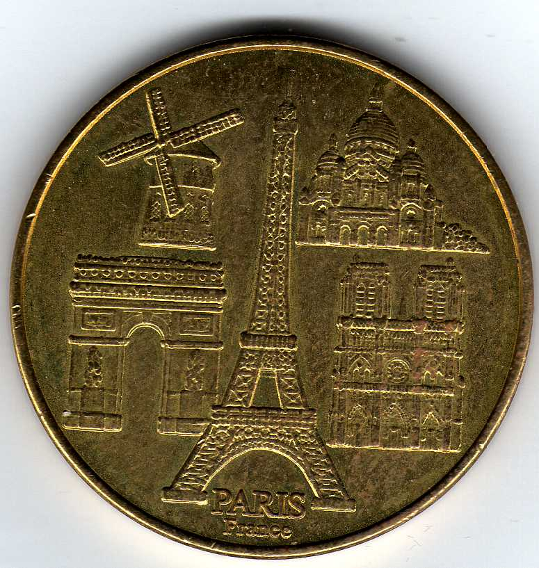 Paris (75000) Ville de Paris Générique W03810