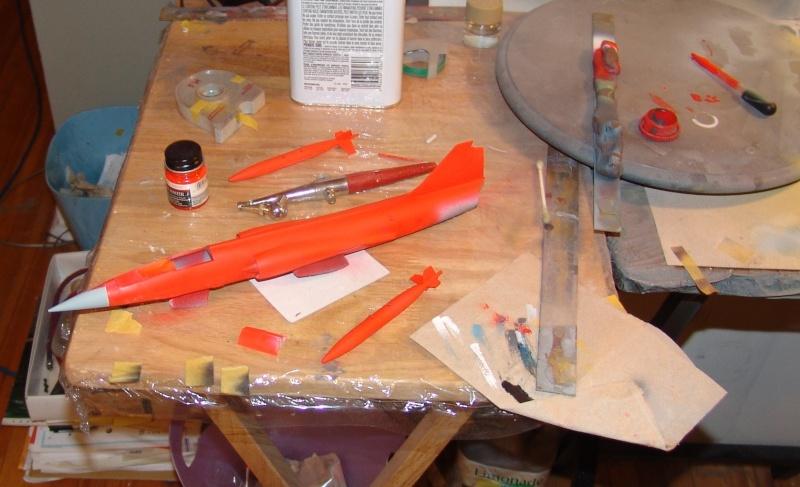 "QF-104 Starfighter Drone ""Dayglo"" 1/48 Hasegawa 2015-013"